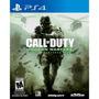 Jogo Mídia Física Call Of Duty Modern Warfare Remastered Ps4 Original