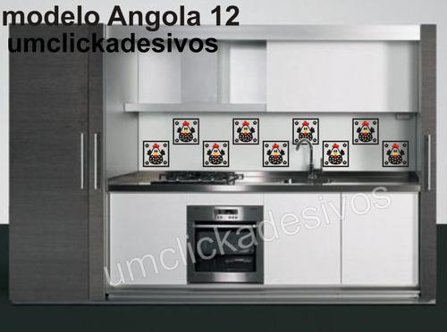Adesivo Azulejo Cozinha Galinha Da Angola  12 (Adesivos de Parede) a