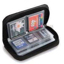 Case Capa Bolsa Porta Cartão De Memória Sd, Sdhc, Micro,cf