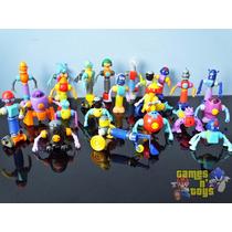 Lote Robits Coleção Revista Recreio Robôs De Montar