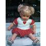 Boneca Bebê E Reborn - Vestido E Roupinhas - Sem A Doll