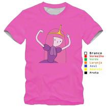 Camisa Camiseta Princesa Jujuba Hora De Aventura Algodão