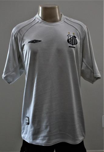 Camisa Santos Umbro 2001 Gg Sem Patrocínio  46 634c7267a53d0