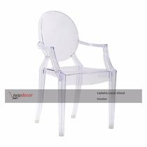 Cadeira Sophia Louis Ghost Incolor Policarbonato Acrílica
