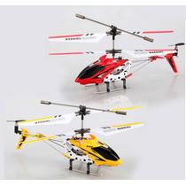 Mini Helicóptero Syma S107g Gyro Voar Dentro De Casa Criança