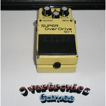 Pedal Boss Super Over Drive Sd-1 Anos 80