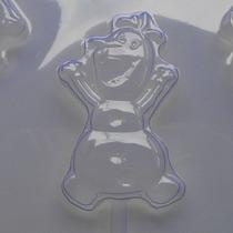 5 Formas De Acetato Para Pirulito De Chocolate Olaf Frozen