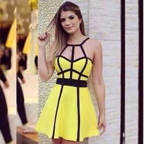 Vestido Trançado Juju Salimeni 3d Panicat Pronta Entrega!!