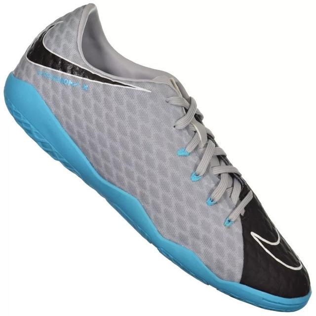 fe0fedaa39 Chuteira Nike Hypervenom Phelon Iii Ic - Futsal Cinza em Congonhas ...