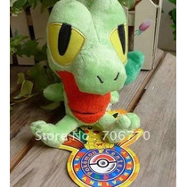 Pelúcia Pokémon Treecko - Original Pokémon Center - Novo