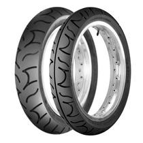 Par Pneu Cbx 250 Twister Dafra Dianteiro + Traseiro Maggion
