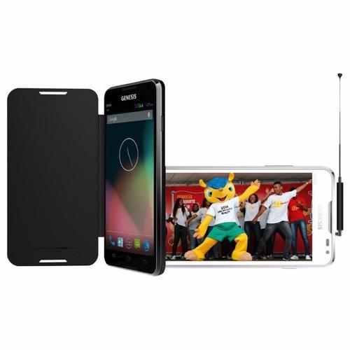 Smartphone Genesis Gp505s Dual Sim Tela 5.0 8gb Gps Tvd 3g