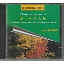 Luiz Avelar - Cd Homenagem A Djavan - Vol 2 - Seminovo
