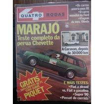 Revista Quatro Rodas 243 Out/80 Raridade Revista De 30 Anos