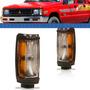 Lanterna Dianteira L200 03 2002 2001 2000 1999 A 92 Preta