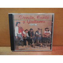 Cd Poesia, Canto Y Guitarra Volume 1 Música Gaúcha