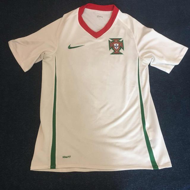 db32f8e11b Camisa de Futebol da Seleção de Portugal - Branca