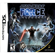 Jogo Novo Star Wars The Force Unleashed Para Nintendo Ds