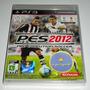 Pes 2012 Pro Evolution Soccer Futebol Jogo Ps3 Original