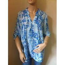 Camisa Seiki Floral Botões Of: Vanete - 620759