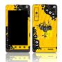 Capa Adesivo Skin354 Motorola Milestone 3 Xt860 4g