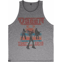 Camisetas Regatas Baratas Bandas Rock Freddie Mercury Queen