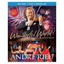 Blu-ray Andre Rieu Wonderful World {import} Novo Lacrado