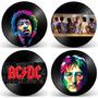 Quadro Em Disco De Vinil - Decoração Rock And Roll E Cinema