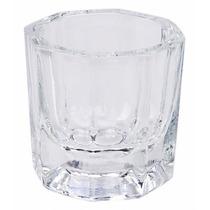 Pote Dappen Vidro Mistura Pó Acrilico Liquido Monomer Unha