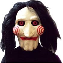 Máscara Jigsaw Filme Jogos Mortais Latex - Frete Grátis!!