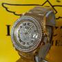 Relógio Hj007 Invicta Angel 90255 Dourado Ouro 18k + Maleta