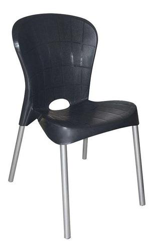 Cadeira De Plástico Montes Claros Preta