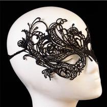 Máscara De Pano Negra B Para Fetiche Ou Carnaval - Sex Shop