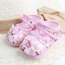 Sapatinho Bebê Menina Recém Nascido Sapato Presente