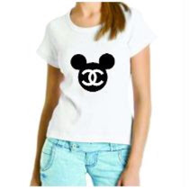Camiseta Baby Look Minnie