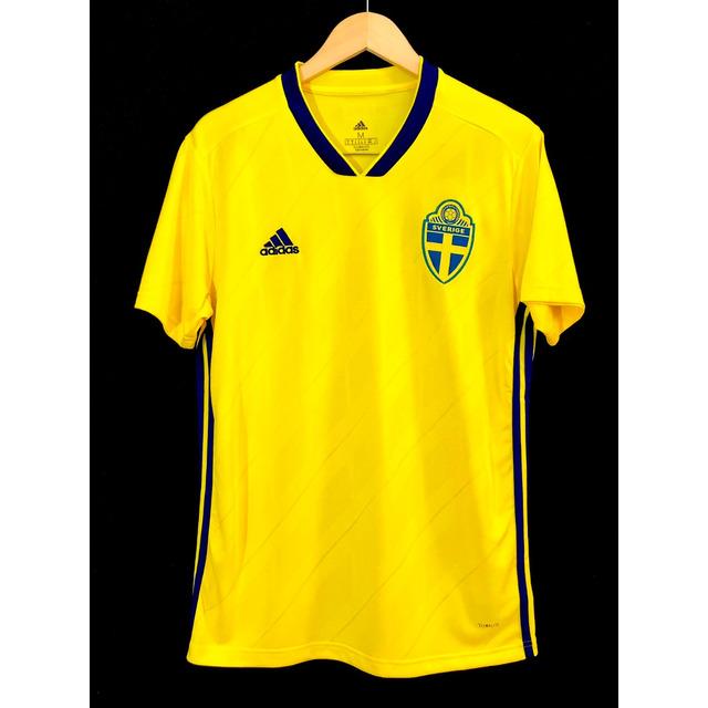 Camisa adidas Seleção Suecia 2018 Oficial Copa Do Mundo 5c1535a69c6ad