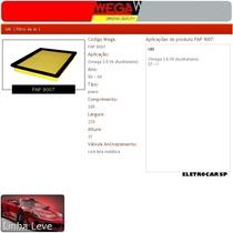 Filtro De Ar - Omega 3.8 V6 Australiano 99 A 04