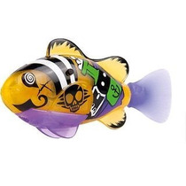 Robô Fish Peixe Pirata Brinquedo Dtc 2957 Amarelo