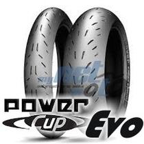 Pneu 17 180-55-17 120-70-17 Michelin Power Cup Evo