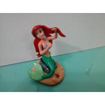 Ariel Pequena Sereia Disney Figura Tipo Escultura Numerada