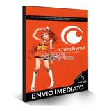 Crunchyroll - Cartão Pré-pago Assinatura Premium 3 Meses