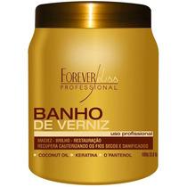 Forever Liss Profissional Banho Verniz Pantenol Keratina 1kg
