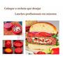 Molde Hambúrguer Recheado - Forma Modeladora Stufz! Prático