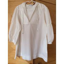 Camisa Branca Le Lis Blanc Com Capuz