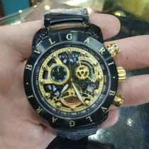 1611331b6da 4 Relógio Bvgari Dourado Esqueleto à venda em Pedro Leopoldo Minas ...