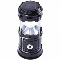 Lampiao E Lanterna Led Recarregavel Solar E Energia Usb