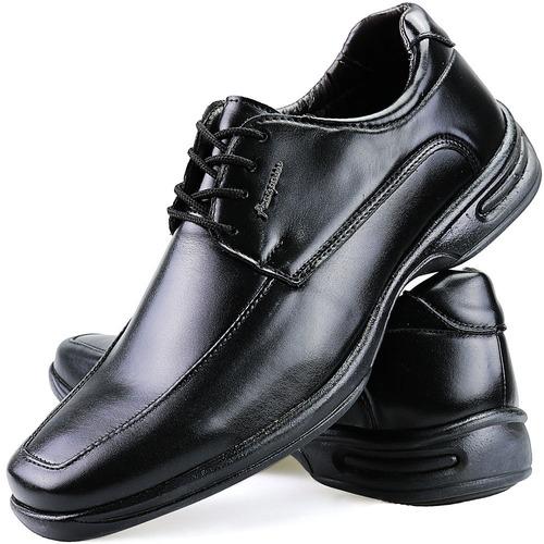 37fa0014f8 Sapato Social Masculino Ortopedico Antistress Anatômico