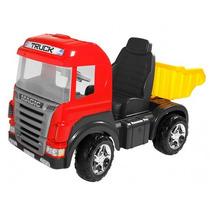 Caminhão Infantil Truck Pedal Com Som E Luz 9300