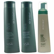 Joico Body Luxe Tratamento Shampoo Condicionador Foam Design