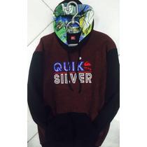 Blusa Frio Moletom Quiksilver 100% Original Quiksilver Surf